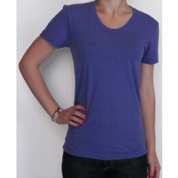 American Apparel - Tri Blend - Girl Shirt - tri orchid