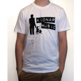 Kidnap Music - Logo - T-Shirt - white
