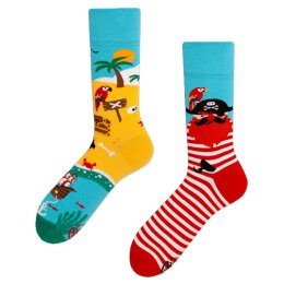 Many Mornings Socks - Pirate Island - Socken