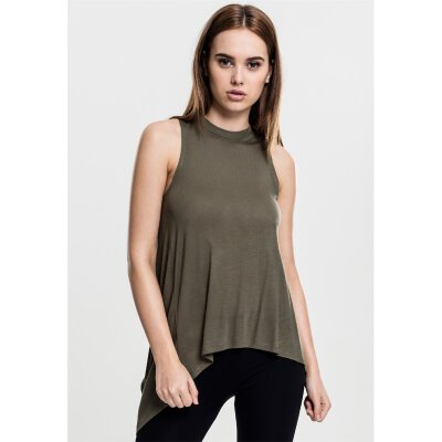 Urban Classics - TB1509 - Ladies Hilo Viscose Top - olive