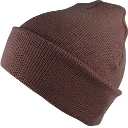 Flexfit - Premium Heavy Weight Long Beanie Beanie - brown