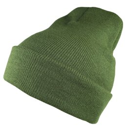 Flexfit - Premium Heavy Weight Long Beanie Beanie - olive
