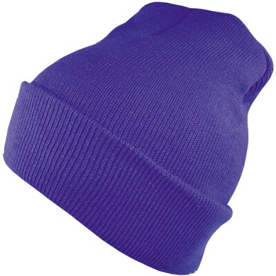 Flexfit - Premium Heavy Weight Long Beanie Beanie - purple