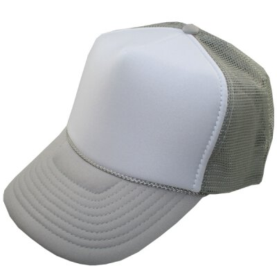 Meshcap - blank - grey/white/grey