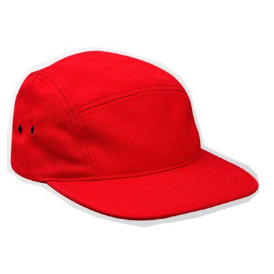Flexfit / Yupoong - 7005 - 5 Panel Jockey Cap - red