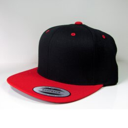 Flexfit - Snapback - black/red
