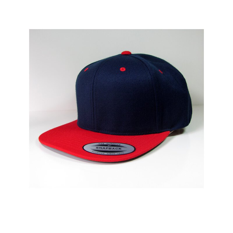 Flexfit - Snapback - navy/red