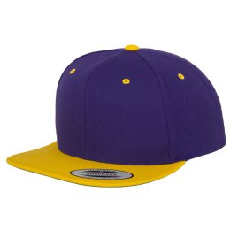 Flexfit - Snapback - purple/yellow