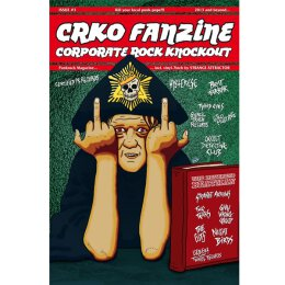 Corporate Rock Knockout (CRKO) - Fanzine (english) + 7 -...