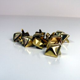 Pyramidenniete - gold - 13mm
