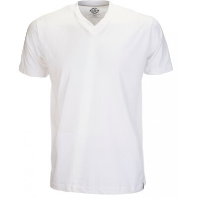 Dickies - Basic V-Neck T-Shirt - white