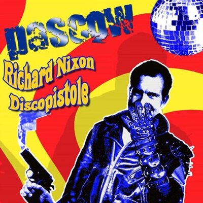 Pascow - Richard Nixon Discopistole - LP (black) + MP3