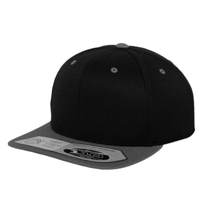 Flexfit - 110 Fitted Snapback - black/grey