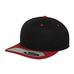 Flexfit - 110 Fitted Snapback - black/red
