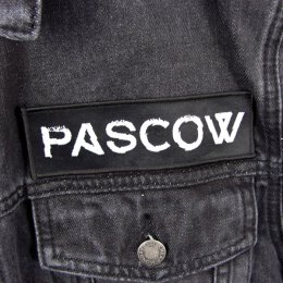 Pascow - Schrift - Patch