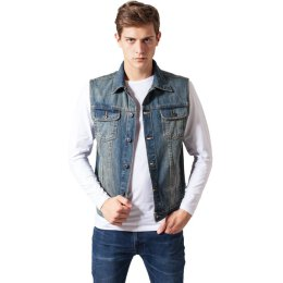 Urban Classics - Denim Vest - TB514 - light blue