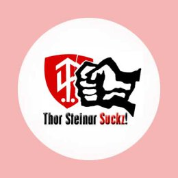 Thor Steinar Suckz! - Button