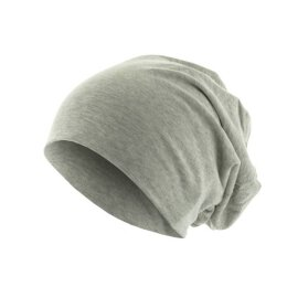 KMA - Jersey Beanie - heather grey
