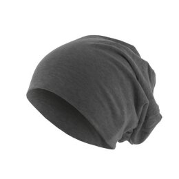 KMA - Jersey Beanie - heather charcoal
