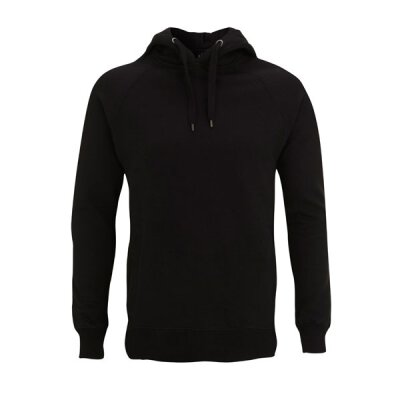 Continental - N50P Pullover Hood Side Pockets - black