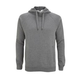 Continental - N50P Pullover Hood Side Pockets - dark heather