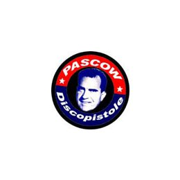 Pascow - vote for... (schwarz) - Button