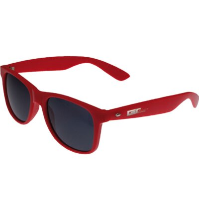 Groove Shades - Wayfarer Style - Sonnenbrille - red