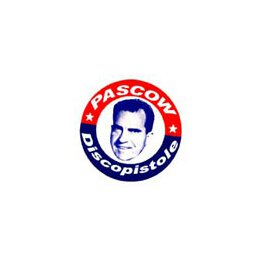 Pascow - vote for... (weiss) - Button