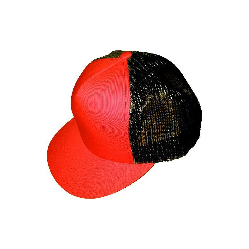 Meshcap - blank - red/red/black