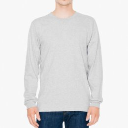 American Apparel - 2007 Fine Jersey Long Sleeve - heather...