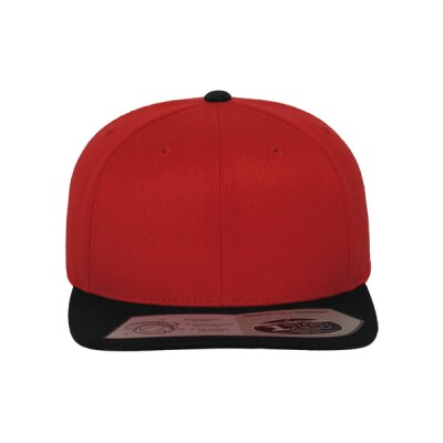Flexfit - 110 Fitted Snapback - red/black