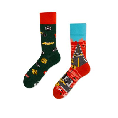 Many Mornings Socks - Route 66 - Socken