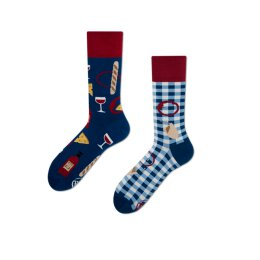 Many Mornings Socks - Bonjour France - Socken