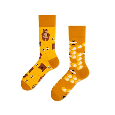 Many Mornings Socks - Honey Bear - Socken