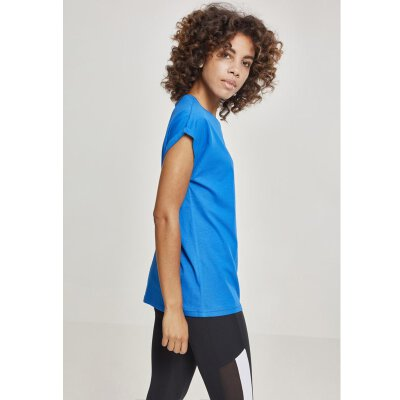 Urban Classics - TB771 - Ladies Extended Shoulder Tee - brightblue