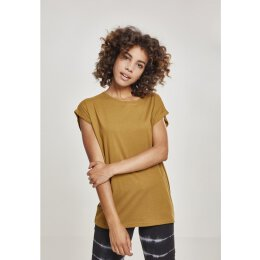 Urban Classics - TB771 - Ladies Extended Shoulder Tee - nut