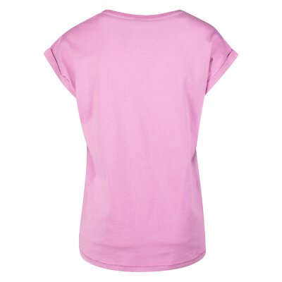 Urban Classics - TB771 - Ladies Extended Shoulder Tee - coolpink