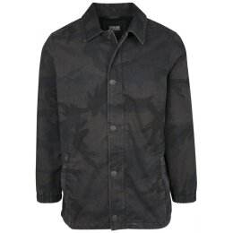 Urban Classics - TB2418 - Camo Cotton Coach Jacket - dark...