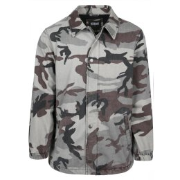 Urban Classics - TB2418 - Camo Cotton Coach Jacket - grey...