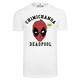 Deadpool - Chimichanga - Tee - white