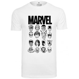 Marvel - Crew - Tee - white