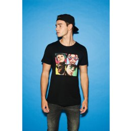 Gorillaz - 4 Faces - Tee - black