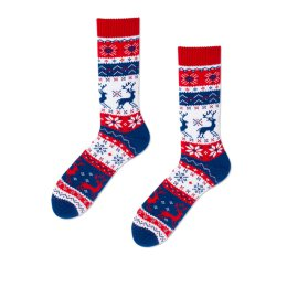 Many Mornings Socks - Warm Rudolph - Socken