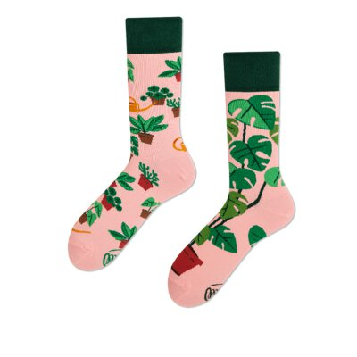 Many Mornings Socks - Plant Lover - Socken