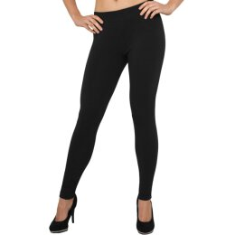 Urban Classics - TB605 Ladies Cotton Leggins - black