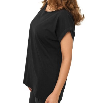 Urban Classics - TB771 - Ladies Extended Shoulder Tee - black