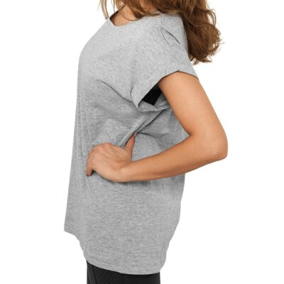 Urban Classics - TB771 - Ladies Extended Shoulder Tee - grey